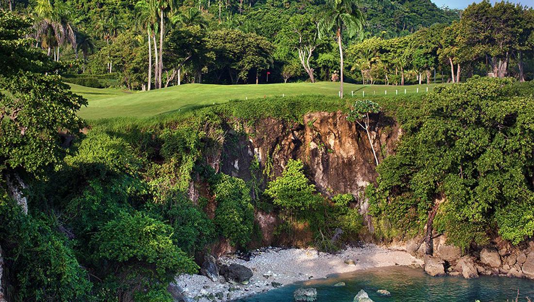 Golf on the Ocean